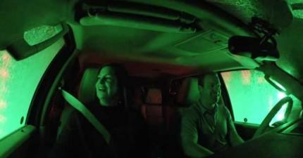 福特汽車準備了「喪屍洗車房惡作劇」,就為了要把去試車的客人嚇到爆。