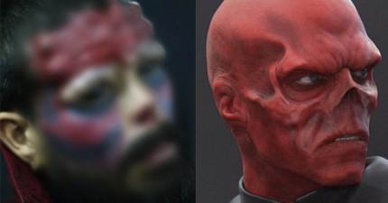 這名男子太著迷《美國隊長》的紅骷髏了,不惜移除鼻子來動超極端的手術!