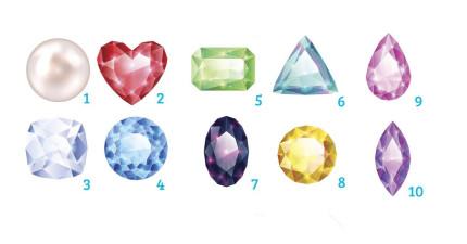 從這10顆寶石挑出一顆,寶石將會道出你內心的性格與未來。
