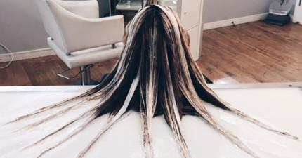 現在這種超夢幻精靈系「手繪流體染髮」已經風靡了全世界,看到成果後你也會愛死!