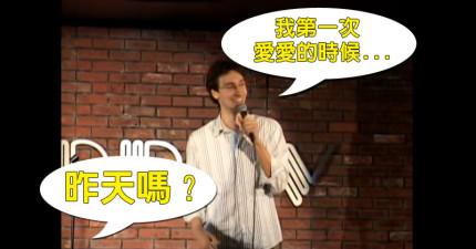 這名台下酸民以為他完全嗆贏了,沒想到喜劇演員一句「爆笑神回應」徹底將他KO!