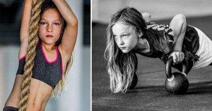 9歲小妹不想被欺負 怒加入「海豹部隊」訓練自己...現在屁孩只想巴結她