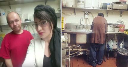 正妹老闆雇用「重罪犯」當洗碗工 2周後他變成貴客上門:謝謝妳