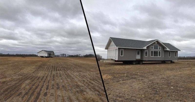 他一覺醒來驚覺田裡「多了一棟房子」屋裡沒半個人...PO網求助最後真相大白!