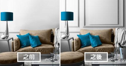 10個「讓你家變成高級別墅」的超簡單輕裝潢技巧,空間質感馬上大提升!