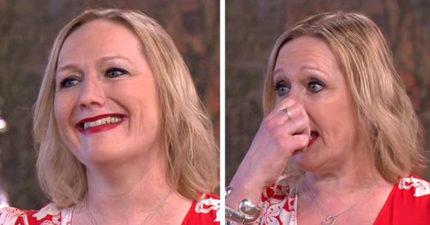 女子突然「把整個鼻子摘下」臉上只剩一個洞,她:這是跟狗狗碰撞的後果