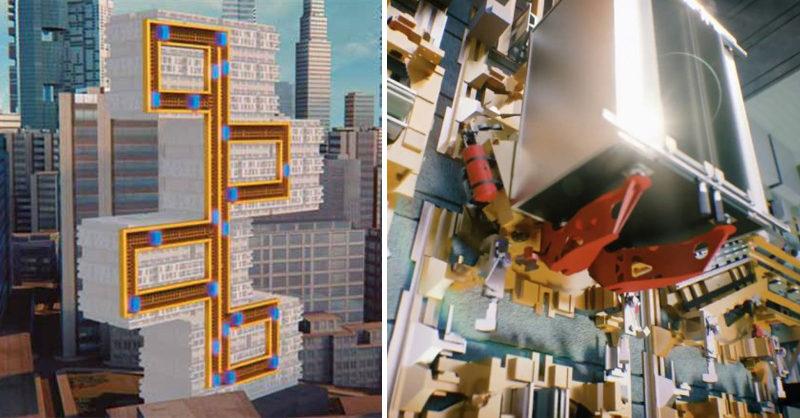 能上下左右移動!革命性「可以橫向行走的電梯」強勢面世,業者:纜繩式電梯要GG了(影片)