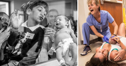 20個讓你體驗生命來臨瞬間的「2018年得獎生產照」,「寶寶從媽媽下面冒出」太震撼!(圖片慎入)