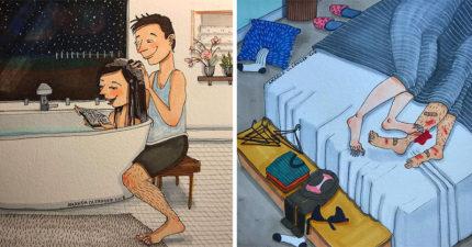 30幾張證明「愛情不只有激情」的老夫老妻戀愛照