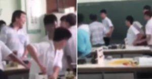 時代變了!老師制止玩手機 下場被學生追扁「抱頭逃出教室」