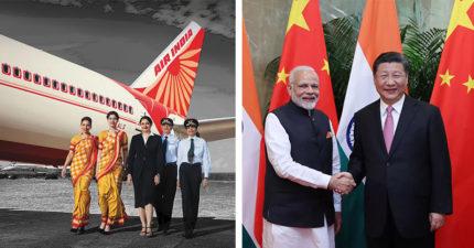 中國不願認定「一個印度」 印航不改台灣名稱:台灣就是台灣!