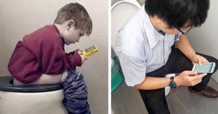 上廁所邊玩手機傷很大 7大身體器官整組去了了
