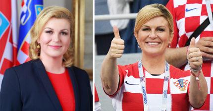 最美女總統!克國總統「化身小迷妹」加油 性感出遊照爆紅