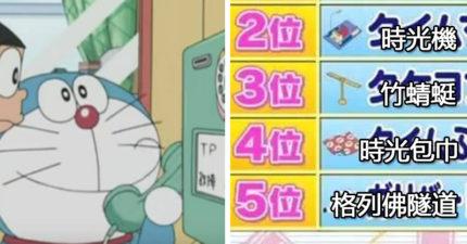 小孩VS大人「最想要的哆啦A夢道具」排行出爐!兩者差異證明了成長的殘酷啊~