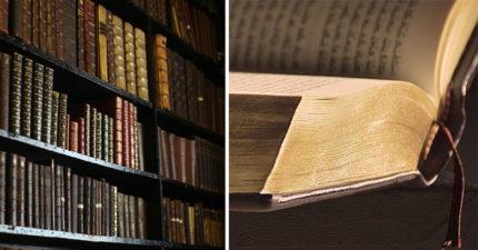 丹麥圖書館發現「3本歷史藏書有毒」 封面塗好塗滿...舔指翻頁秒中標