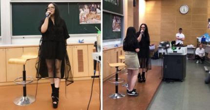 張惠妹到台大當講師 不上課先唱《連名帶姓》學生嗨爆:還好沒翹課