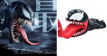 國際版海報超恐怖!周邊卻是超萌《猛毒》捲線器:長長舌頭一口包起電線♥