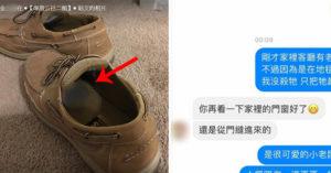 小老鼠臭倒在鞋裡 對話意外曝光「老公的大小」...網:他是廣志?