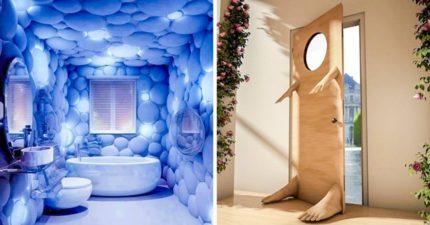 17個夢幻到讓你不想出門的「超天才室內設計」 盪著白色鞦韆開會啦~