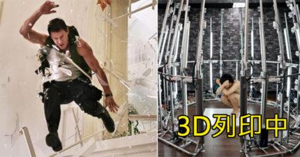 太想學英雄破窗又怕玻璃刺 他撒180萬「3D列印自己」...成果影片卻讓人超問號