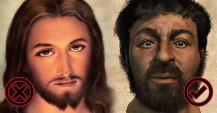 被歷史課本騙了!7個「古代名人最真實的長相」 耶穌根本不是「長髮男」?