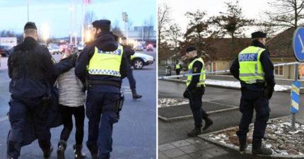 瑞典小女嬰跟車憑空蒸發!全城警察調60架直升機+所有警犬狂搜 爛掉所有交通只為找到她!