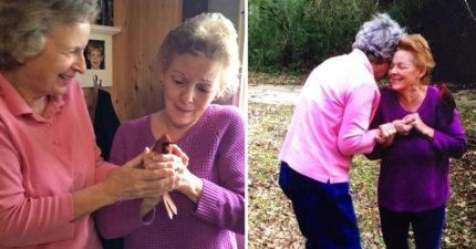 97歲奶奶離世前答應「回來會讓他們知道」 告別會上「暗號」真的來了