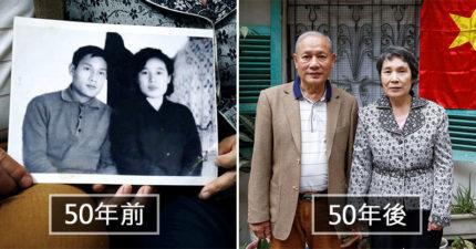 留學生愛上北韓妹「被金日成阻擾40年」 最後卻靠「狂送白米」終於把她娶回家!