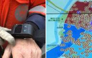 中國逼所有清潔工戴「智慧手環」掃地 剛停下來就發出超羞恥「他在偷懶」警報!