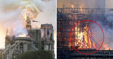 巴黎聖母院「850年歷史」被大火燒光 她意外找出「耶穌現身的證據」引暴動:祂有來!