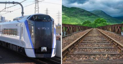 日驚傳鐵道靈異事件!司機看到「有人跳下鐵軌」緊急剎車 下車查看傻在原地:什麼都沒有...