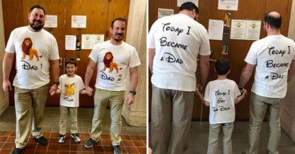 他們放棄擁有「親生孩子」收養悲慘男童 他擁有「2位暖爸」1年後重新露出笑容!
