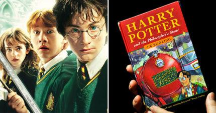 他拍賣《哈利波特》小説喊價「120萬」 全因藏在「第53頁的秘密」網暴動:我要回家檢查!