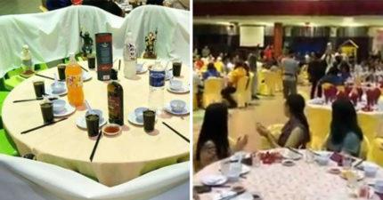 新人挑戰華人傳統禁忌「請黑白無常吃喜酒」 網爆笑:婚姻果然是墳墓!