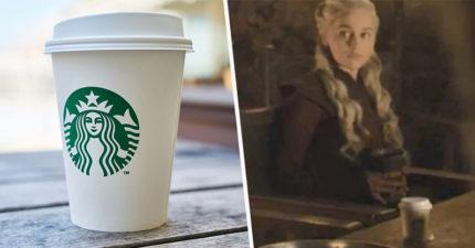 《權力遊戲》「咖啡杯入鏡」讓星巴克爽賺700億廣告 劇組揭開「穿幫真相」超傻眼!