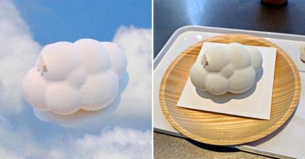 日本限量超療癒「雲朵蛋糕」!蓬蓬外表好可愛 「切開來」畫面讓人味蕾爆發