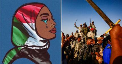 蘇丹政府用「一片紅」阻止民主抗議 下令軍人「擊破」女性:沒呼吸的也不放過!
