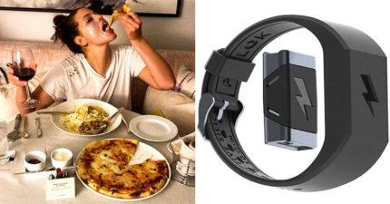 國外推「邪惡手環」控制飲食 再吃垃圾食物「就通電」網大讚:真的瘦了…