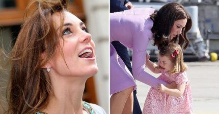 14張證明「凱特其實不完美」的珍貴時刻 遇到「小鮮肉」的反應…跟平凡少女一樣!