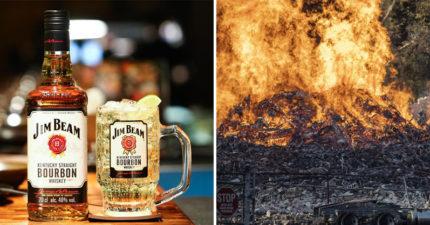 金賓酒廠被雷劈「4.5萬桶威士忌」全燒光 無人傷亡網友卻超擔心:會斷貨嗎?