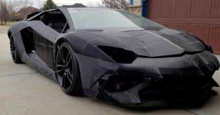 超狂父子「用3D列印」打造千萬跑車 「超划算成本」還原藍寶堅尼…網友全傻眼!