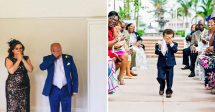 23張各地婚禮的催淚照 「行動不便的爸爸」還是想陪女兒跳舞!