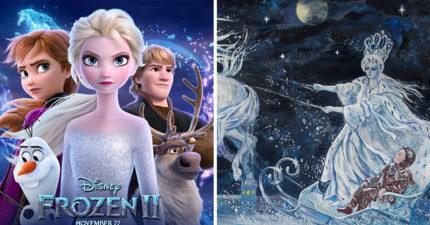 《冰雪奇緣》原型是黑暗童話!4個角色「名字連起來」竟是安徒生的名字