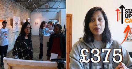 影/網紅「舉辦假畫展」竟成功把畫賣光光 她「狂賺25萬」卻被讚翻:做得好!