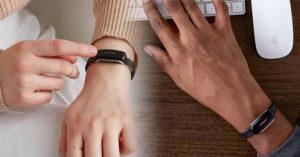 國外推「隔空發送想念」的閨蜜手環 按下「一個按鍵」就能傳達心意❤