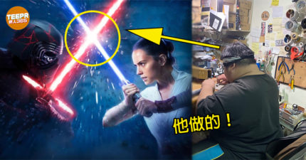 網人365/亞洲第一「光劍鑄造師」馬可多 靠執著「贏過星戰官方」狂銷40國!