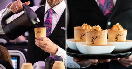 喝完咖啡吃杯子!紐航創新推「環保餅乾杯」一年可省下800萬個杯子