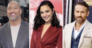 Netflix打造「世界最強電影」開拍 巨石強森搭「死侍+神力女超人」超夢幻!