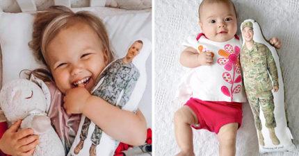 美玩具公司決定把「軍人爸爸→英雄公仔」:想給小孩力量❤