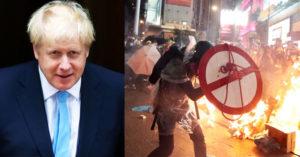 強森警告中國若堅持「港版國安法」 英國將祭「史上最大改變」救港人